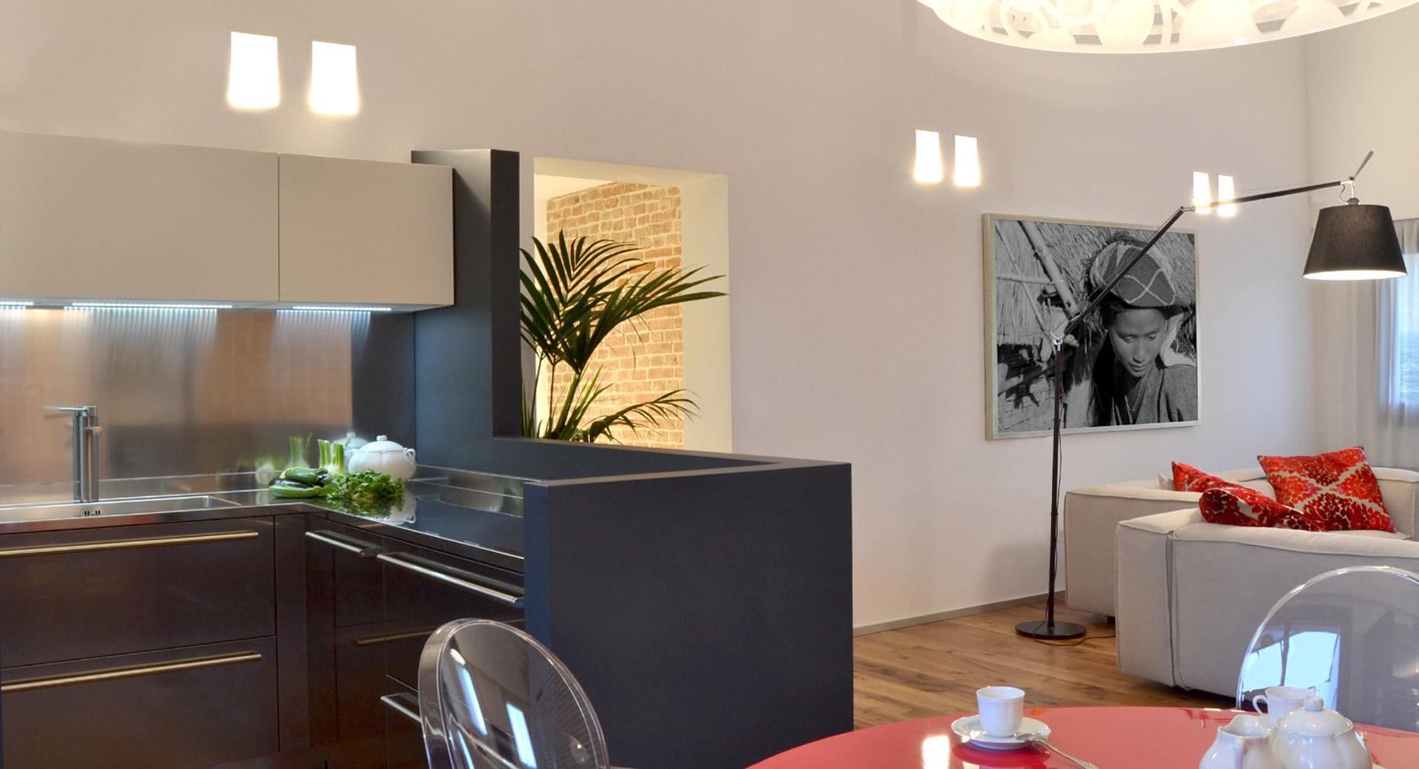 Come arredare l 39 open space soggiorno cucina - Open space cucina salotto ...